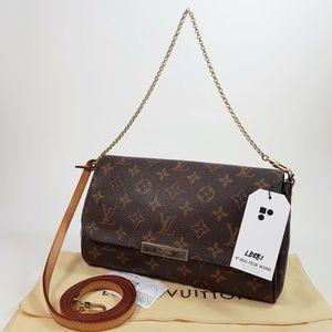 Auth Louis Vuitton Favorite Mm Crossbody #1448L70